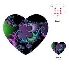 Fractal Dream Playing Cards (Heart)