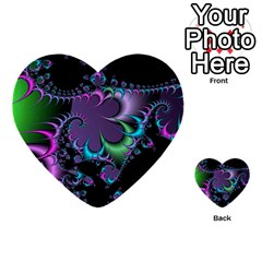 Fractal Dream Multi-purpose Cards (Heart)