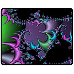 Fractal Dream Fleece Blanket (Medium)