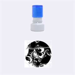 Fractal Dream Rubber Round Stamps (Small)