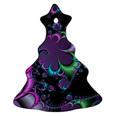 Fractal Dream Christmas Tree Ornament (2 Sides)