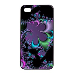 Fractal Dream Apple iPhone 4/4s Seamless Case (Black)