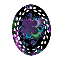 Fractal Dream Ornament (oval Filigree)