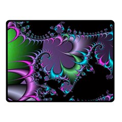 Fractal Dream Double Sided Fleece Blanket (Small)