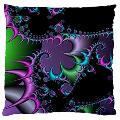 Fractal Dream Large Flano Cushion Cases (Two Sides)