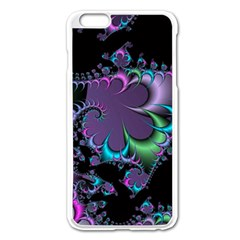 Fractal Dream Apple iPhone 6 Plus Enamel White Case