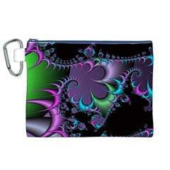 Fractal Dream Canvas Cosmetic Bag (XL)