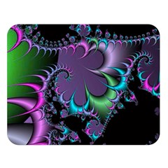Fractal Dream Double Sided Flano Blanket (large)