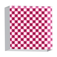 Cute Pretty Elegant Pattern 5  x 5  Acrylic Photo Blocks