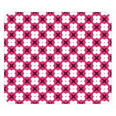 Cute Pretty Elegant Pattern Double Sided Flano Blanket (small)