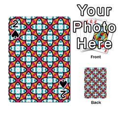 Pattern 1284 Playing Cards 54 Designs