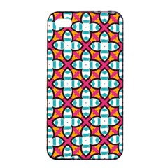 Pattern 1284 Apple iPhone 4/4s Seamless Case (Black)