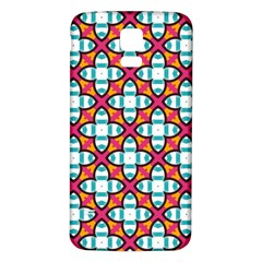 Pattern 1284 Samsung Galaxy S5 Back Case (White)