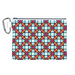 Pattern 1284 Canvas Cosmetic Bag (L)