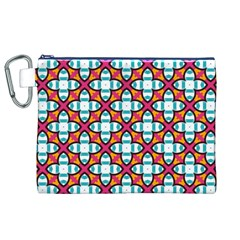Pattern 1284 Canvas Cosmetic Bag (XL)