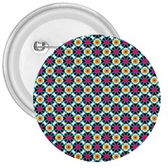 Cute Abstract Pattern Background 3  Buttons
