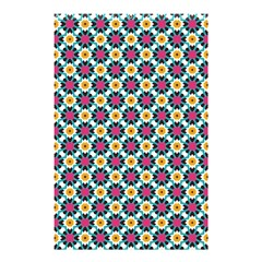 Cute Abstract Pattern Background Shower Curtain 48  X 72  (small)