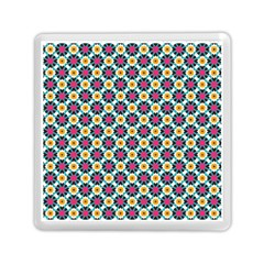 Cute Abstract Pattern Background Memory Card Reader (square)