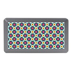 Cute abstract Pattern background Memory Card Reader (Mini)