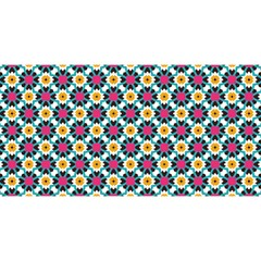Cute Abstract Pattern Background You Are Invited 3d Greeting Card (8x4)