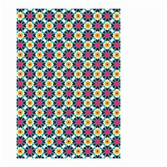 Cute Abstract Pattern Background Small Garden Flag (two Sides)