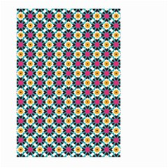 Cute Abstract Pattern Background Large Garden Flag (two Sides)