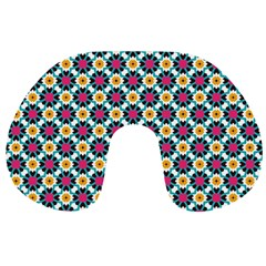 Cute abstract Pattern background Travel Neck Pillows