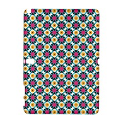 Cute Abstract Pattern Background Samsung Galaxy Note 10 1 (p600) Hardshell Case