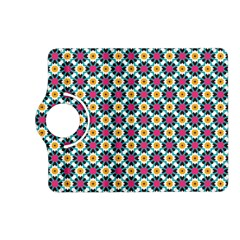 Cute Abstract Pattern Background Kindle Fire Hd (2013) Flip 360 Case