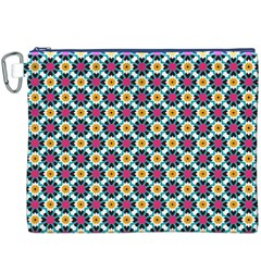 Cute abstract Pattern background Canvas Cosmetic Bag (XXXL)