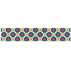 Cute abstract Pattern background Flano Scarf (Large)
