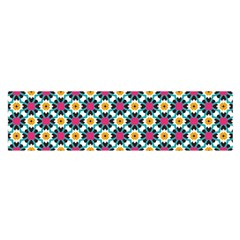 Cute Abstract Pattern Background Satin Scarf (oblong)