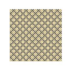 Cute Pretty Elegant Pattern Small Satin Scarf (Square)