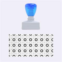 Cute Pretty Elegant Pattern Rubber Stamps (medium)