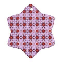 Cute Pretty Elegant Pattern Ornament (snowflake)