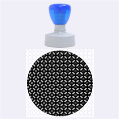 Cute Pretty Elegant Pattern Rubber Round Stamps (Large)