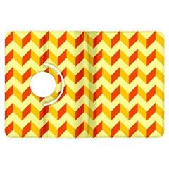 Modern Retro Chevron Patchwork Pattern  Kindle Fire Hdx Flip 360 Case