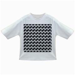 Modern Retro Chevron Patchwork Pattern  Infant/Toddler T-Shirts