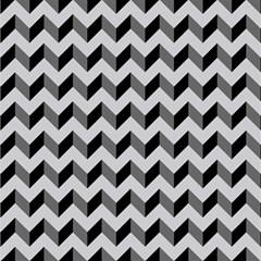 Modern Retro Chevron Patchwork Pattern  Magic Photo Cubes