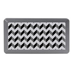 Modern Retro Chevron Patchwork Pattern  Memory Card Reader (Mini)