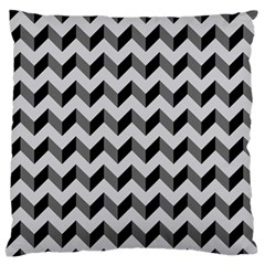 Modern Retro Chevron Patchwork Pattern  Large Flano Cushion Cases (One Side)