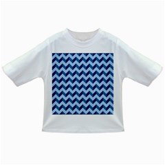 Modern Retro Chevron Patchwork Pattern Infant/toddler T Shirts