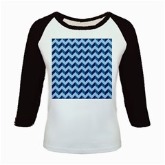 Modern Retro Chevron Patchwork Pattern Kids Baseball Jerseys