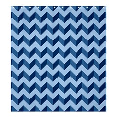 Modern Retro Chevron Patchwork Pattern Shower Curtain 66  x 72  (Large)