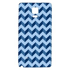 Modern Retro Chevron Patchwork Pattern Galaxy Note 4 Back Case