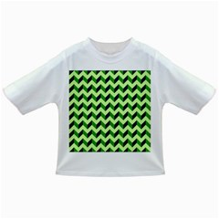 Modern Retro Chevron Patchwork Pattern Infant/Toddler T-Shirts