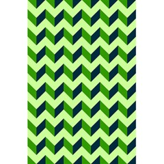 Modern Retro Chevron Patchwork Pattern 5 5  X 8 5  Notebooks