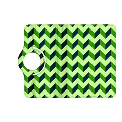 Modern Retro Chevron Patchwork Pattern Kindle Fire Hd (2013) Flip 360 Case