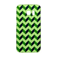 Modern Retro Chevron Patchwork Pattern Galaxy S6 Edge