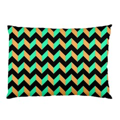 Modern Retro Chevron Patchwork Pattern Pillow Cases